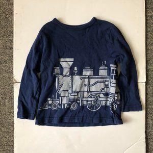 Old Navy 2T Long Sleeve Train T-Shirt
